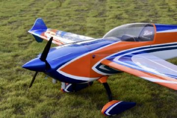 "NEW Skywing 101"" Extra 300 V2-B ORANGE/BLUE  Covered"